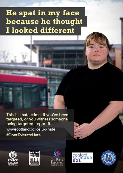 DontTolerateHate Poster 2