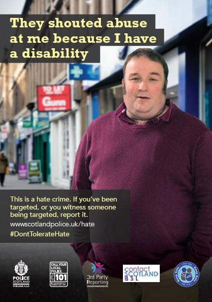 DontTolerateHate Poster 3